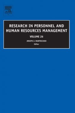 Research In Personnel And Human Resources Management Vol-26