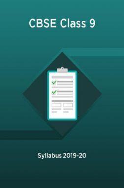 CBSE Class 9 Syllabus 2019-20