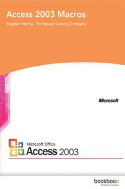 Access 2003 Macros