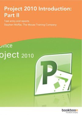 Project 2010 Introduction Part-II