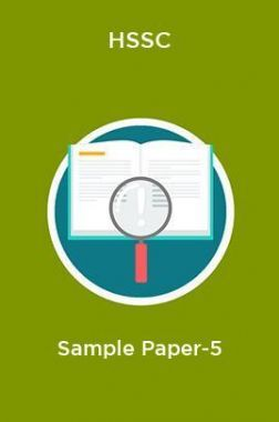 HSSC  Sample Paper-5