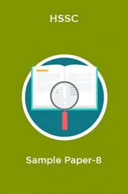 HSSC  Sample Paper-8