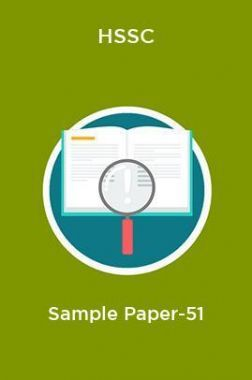 HSSC  Sample Paper-51