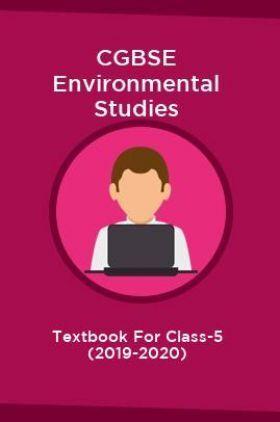 CGBSE Environmental Studies Textbook For Class-5 (2019-2020)