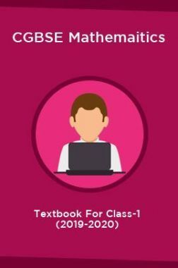 CGBSE Mathemaitics Textbook For Class-1 (2019-2020)