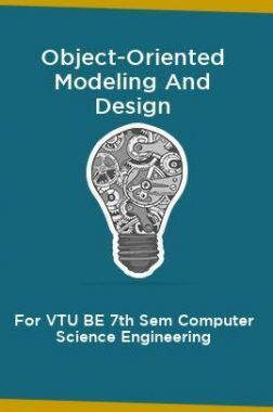 Object-Oriented Modeling And Design  For VTU BE 7th Sem Computer Science Engineering