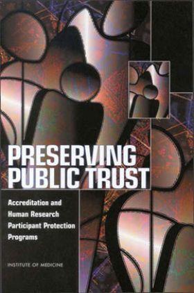 Preserving Public Trust