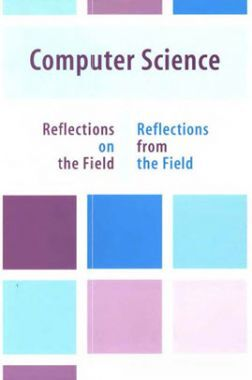 Computer Science Reflections On The Field And From The Field