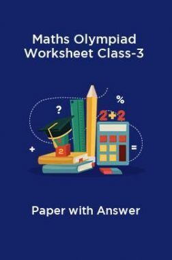 Maths Olympiad Worksheet Class-3 Paper With Answer
