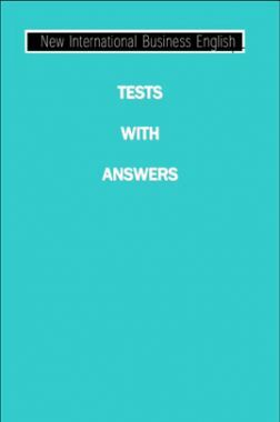 New International Business English Tests With Answers
