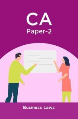 CA Paper-2 Business Laws