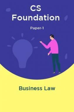 CS Foundation Paper-1 Business Law