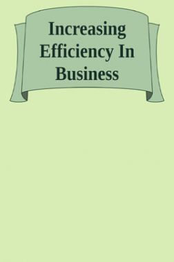 Increasing Efficiency In Business