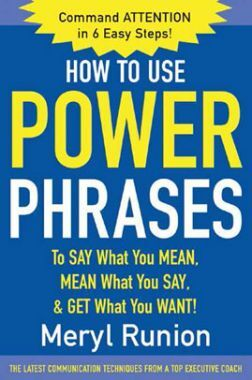How To Use Power Phrases
