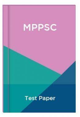 MPPSC Test Paper