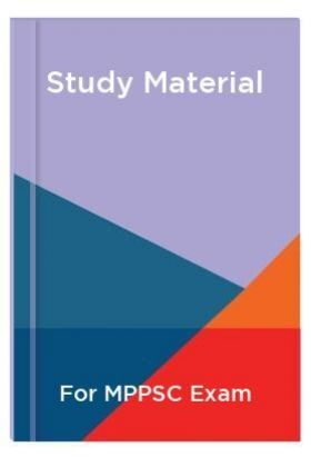 Study Material For MPPSC Exam