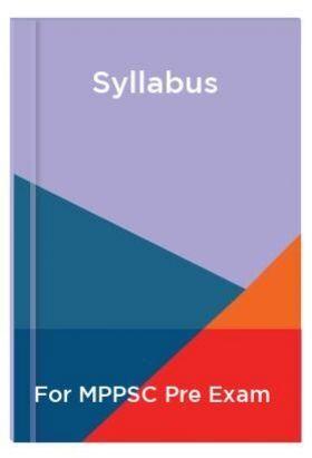 Syllabus For MPPSC Pre Exam