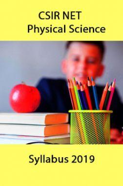 CSIR NET Physical Sciences Syllabus 2019