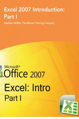 Excel 2007 Introduction Part-I