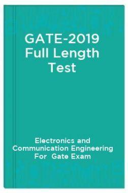 Gate-2019 Full Length Test