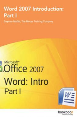 Word 2007 Introduction Part-I