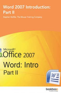 Word 2007 Introduction Part-II