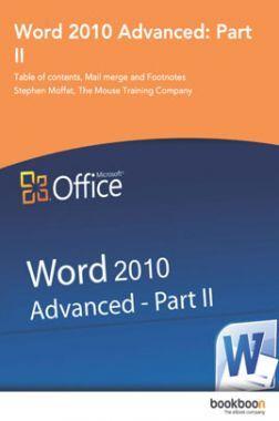 Word 2010 Advanced Part-II