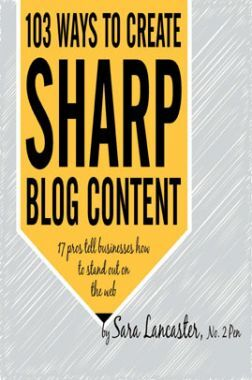 103 Way To Create Sharp Blog Content