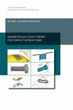 Geometrically Exact Theory For Contact Interactions