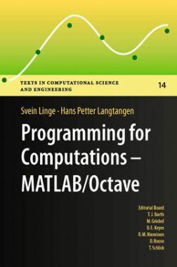 Programming For Computations MATLAB/Octave