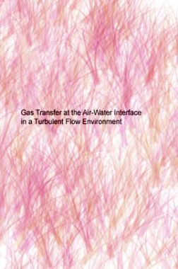 Gas Transfer At The Air Water InterFace In A Turbulent Flow Environment