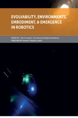 Evolvability, Environments, Embodiment, Emergence