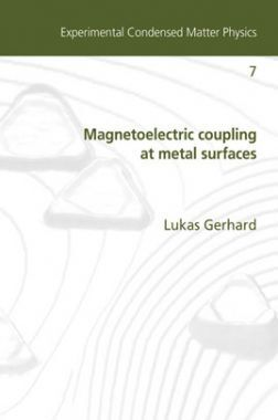 Magnetoelectric Coupling At Metal Surfaces
