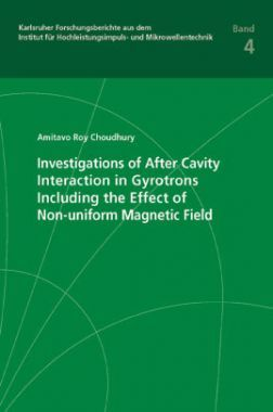 Investigations Of After Cavity Interaction In Gyrotrons