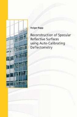 Reconstruction Of Specular Reflective Surfaces Using Auto-calibrating Deflectometry