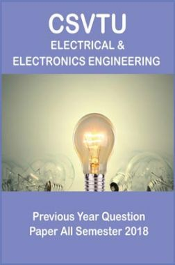 CSVTU Electrical & Electronics Engineering Previous Year Question Paper All Semester 2018