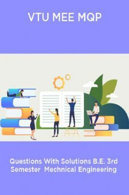 VTU MEE MQP  Questions With Solutions B.E. 3rd Semester  Mechnical Engineering