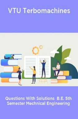 VTU Terbomachines Questions With Solutions  B.E. 5th Semester Mechnical Engineering