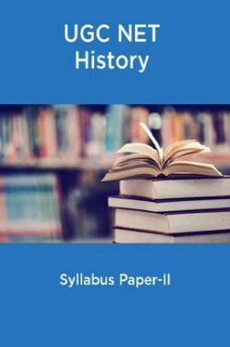 UGC NET History Syllabus Paper-II