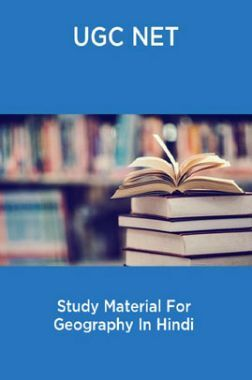 UGC NET Study Material For Geography In Hindi