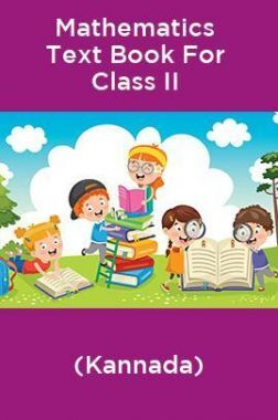 Mathematics Text Book For Class II (Kannada)