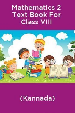 Mathematics 2 Text Book For Class VIII (Kannada)