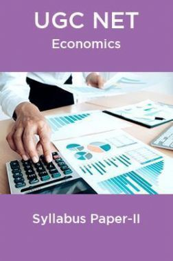 UGC NET Economics Syllabus Paper-II