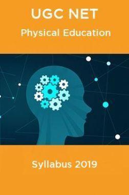 UGC NET Physical Education Syllabus 2019