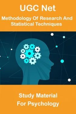 UGC NET Methodology Of Research And Statistical Techniques Study Material For Psychology