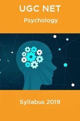 UGC NET Psychology Syllabus 2019