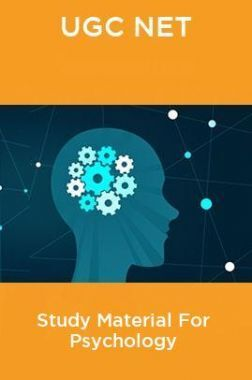UGC NET Study Material For Psychology