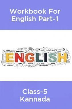 Workbook For English Part-1 Class-5 Kannada