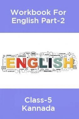 Workbook For English Part-2 Class-5 Kannada