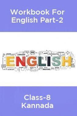 Workbook For English Part-2 Class-8 Kannada